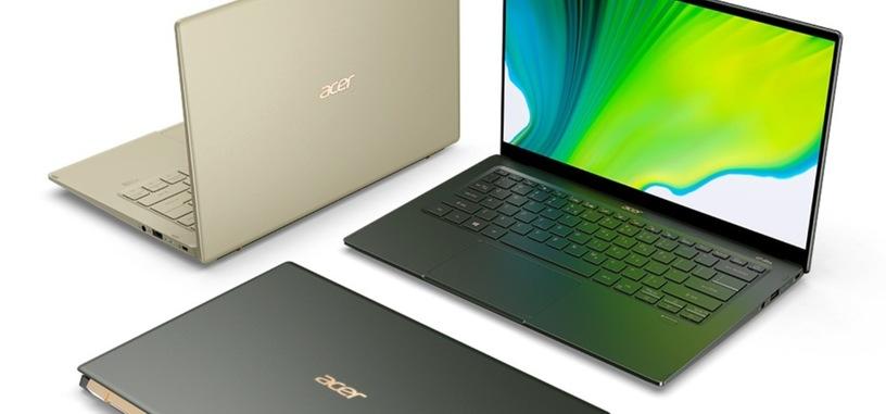Acer anuncia nuevo Swift 5, con procesador Tiger Lake y MX350