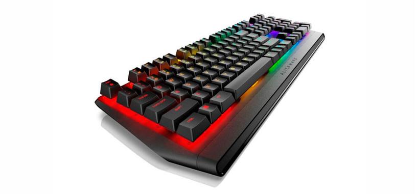 Dell anuncia el teclado AW410K, un AW310K con iluminación RGB por tecla