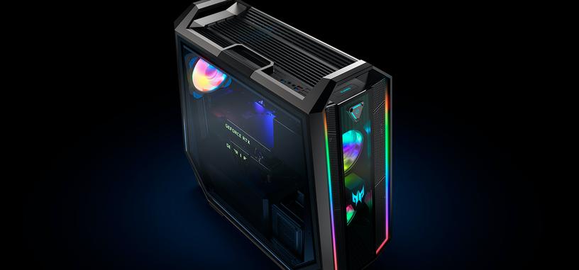 Acer renueva el Predator Orion 9000, nuevo diseño con más iluminación RGB y más potencia