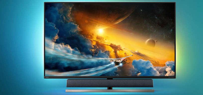 Philips anuncia el Momentum 558M1RY, 55'' 4K y 120 Hz con DisplayHDR 1000 y barra de sonido