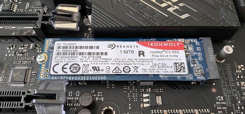 Análisis: IronWolf 510 de Seagate, SSD para NAS