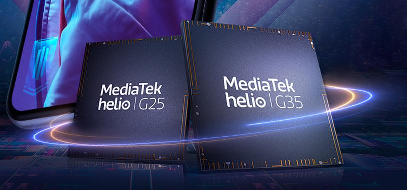 Mediatek tiene dos nuevos SoC económicos orientados a juegos, los Helio G25 y Helio G35