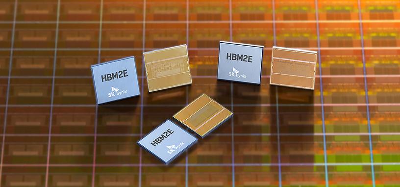SK Hynix inicia la producción de memoria HBM2 de hasta 3.6 GHz