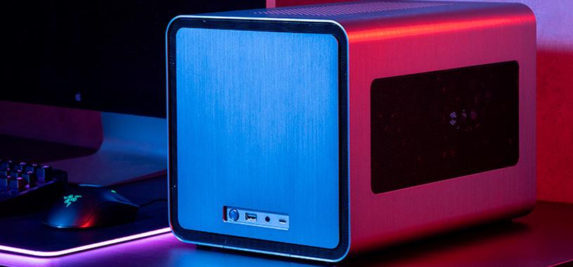 Jonsbo presenta la caja V8, modelo tipo cubo para placas base mini-ITX