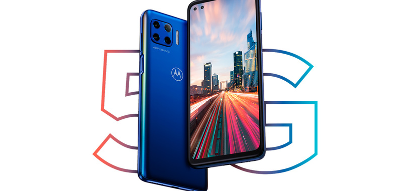 Motorola anuncia el Moto G 5G Plus, gama media con Snapdragon 765, pantalla 90 Hz, 5G