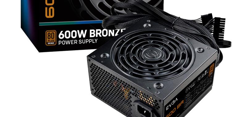 EVGA anuncia la serie BA de fuentes de alimentación 80 PLUS Bronze