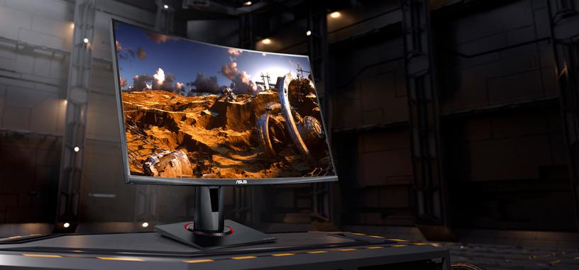 ASUS anuncia el monitor TUF Gaming VG27VQ, 27'' FHD curvo de 165 Hz