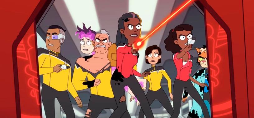 Tráiler de 'Star Trek: Lower Decks', o lo que realmente ocurre en las cubiertas inferiores