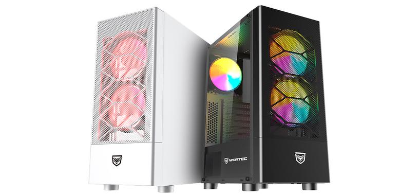 Nfortec anuncia la caja Caelum, frontal mallado y tres ventiladores ARGB por 54.95 €
