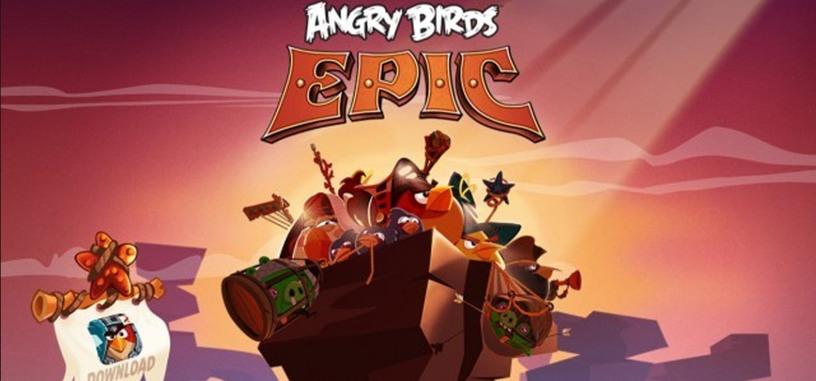 Angry Birds Epic ya disponible para iOS y Android