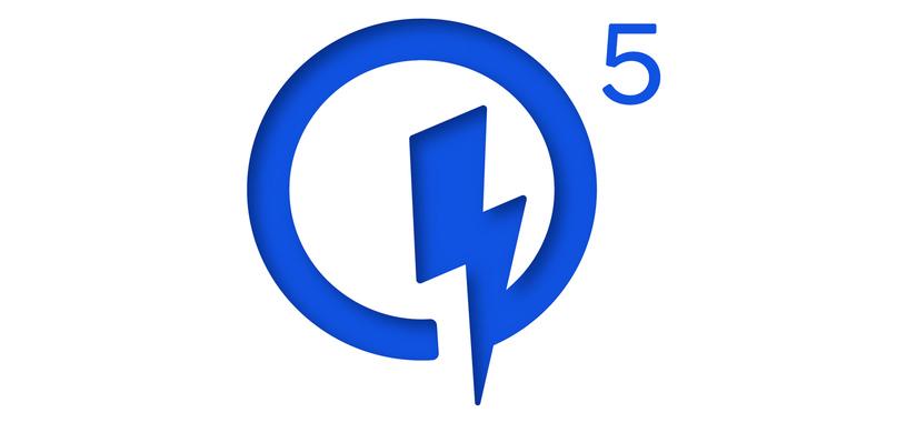 La nueva carga rápida de Qualcomm permitirá recargar el 50 % de la batería en 5 minutos