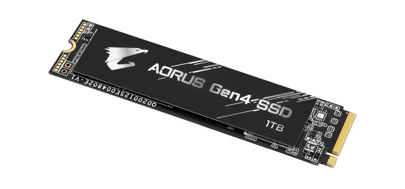 Gigabyte anuncia la serie «AORUS Gen4 SSD»
