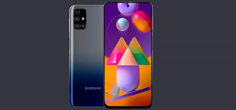 Samsung presenta el Galaxy M31s con batería de 6000 mAh