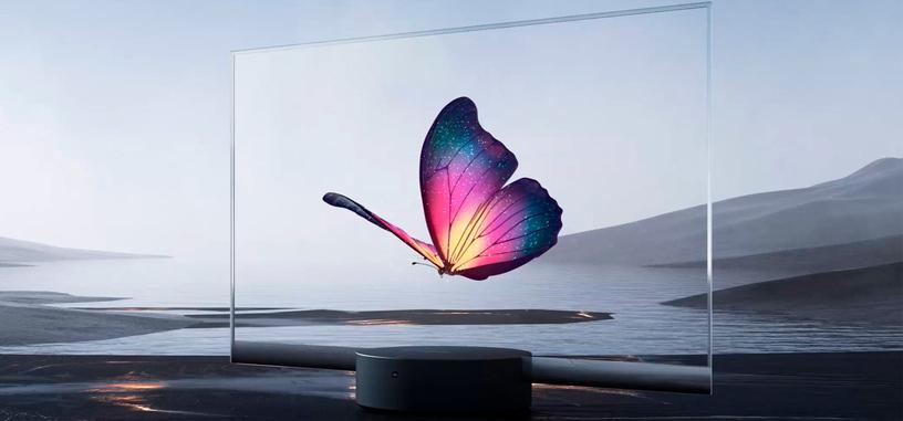 Xiaomi anuncia el primer televisor comercial de pantalla OLED transparente