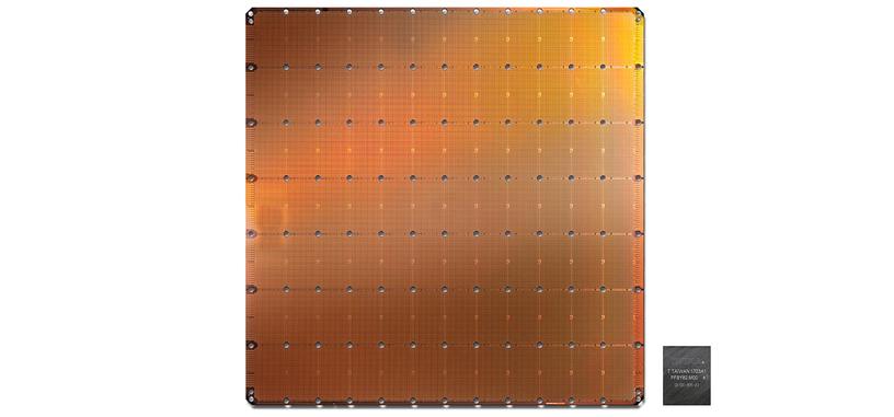Cerebras muestra su enorme chip-oblea que tiene 2.6 billones de transistores