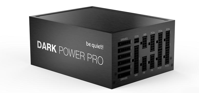 Be Quiet! presenta la serie Dark Power Pro 12 de fuentes de hasta 1500 W con 80 PLUS Titanium