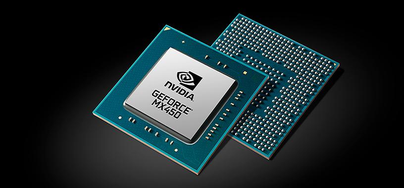 Nvidia añade a su web la GeForce MX450 con PCIe 4.0