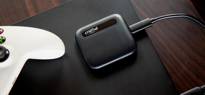 Crucial presenta la serie X6 Portable de SSD, añade un modelo de 2 TB a la serie X8 Portable