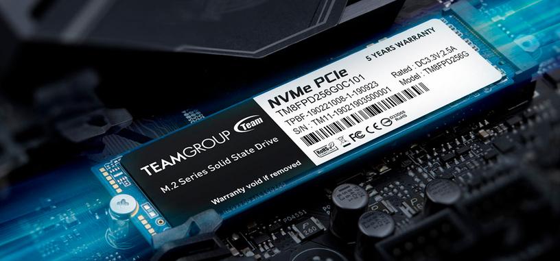 TEAMGROUP presenta la serie MP33 Pro de SSD tipo PCIe