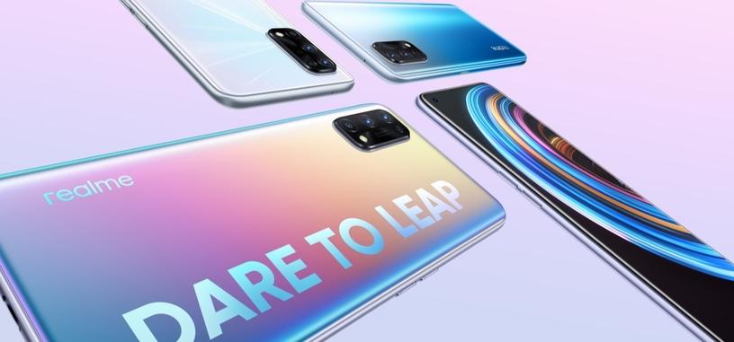 Realme anuncia los X7 y X7 Pro, con 5G y hasta pantalla de 120 Hz y Dimensity 1000+