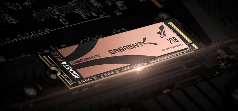 Sabrent muestra su Rocket 4 Plus, tipo PCIe 4.0 que alcanza los 7000 MB/s