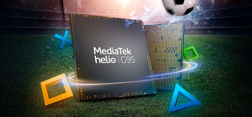 MediaTek anuncia el Helio G95 como un Helio G90T con un 12 % más de potencia gráfica