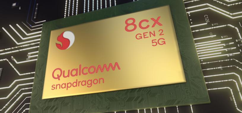 Qualcomm anuncia el Snapdragon 8cx Gen. 2 5G