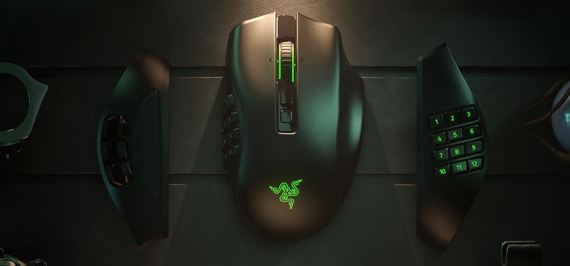 Razer anuncia el Naga Pro, Bluetooth con paneles laterales intercambiables