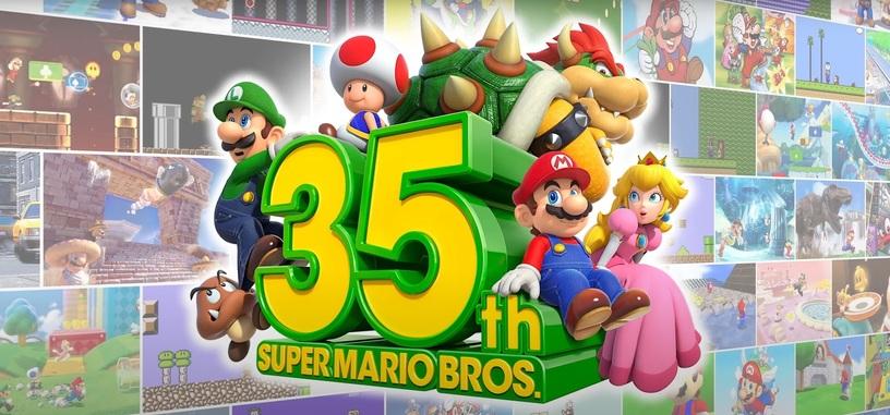 Nintendo celebra el 35 aniversario de Super Mario con varios anuncios de dispositivos y juegos