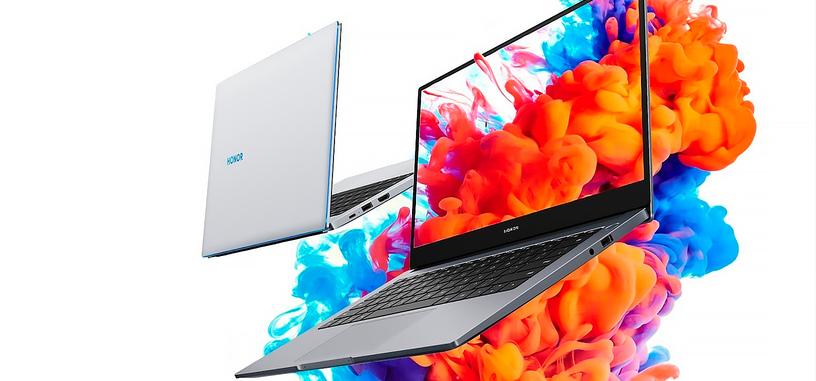 Honor renueva el MagicBook 14 con un Ryzen 5 4500U