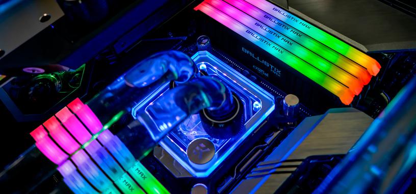 Crucial anuncia la serie Ballistix MAX de módulos de DDR4 de hasta 5100 MHz