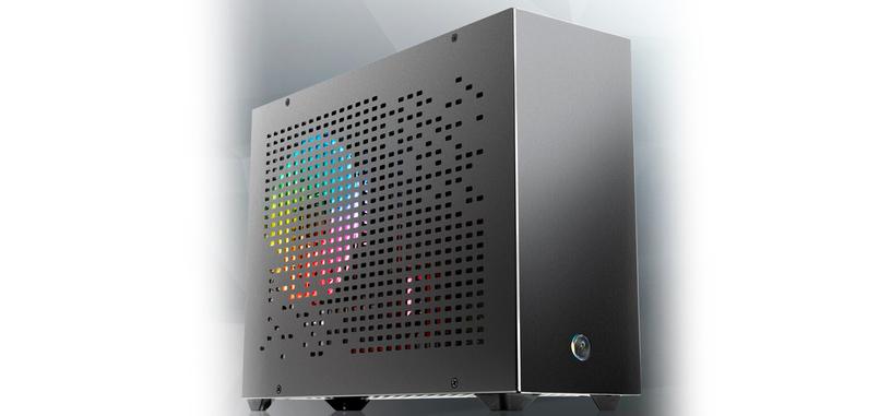 Raijintek presenta la caja OPHION 7L, compacta de aluminio para placas base mini-ITX