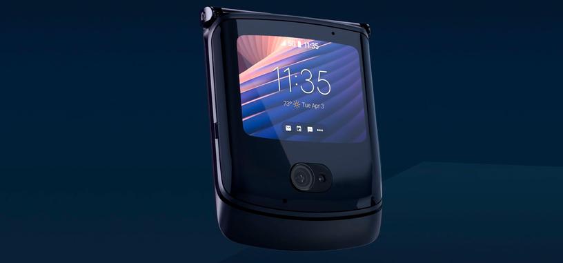 Motorola anuncia el plegable Razr 5G, con un Snapdragon 765G, más batería y mejor cámara