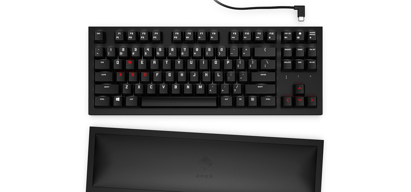 HP presenta el teclado compacto inalámbrico OMEN Spacer Wireless TKL