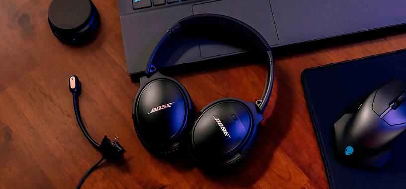 Bose modifica los auriculares QuietComfort 35 II para vendérselos más caros a los jugones