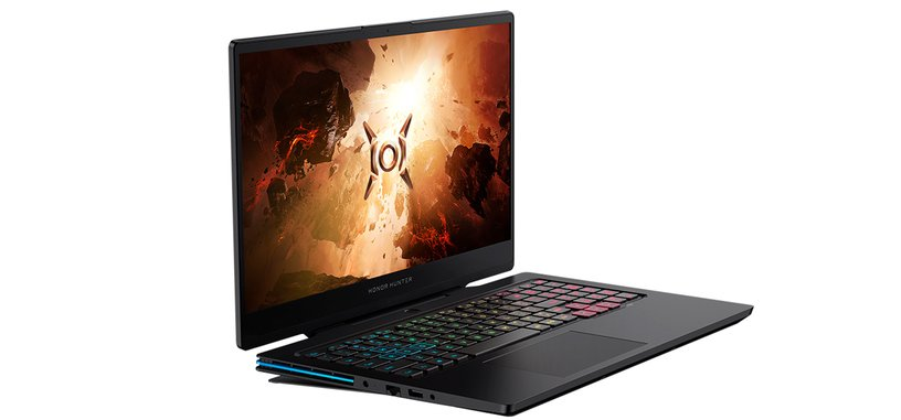 Honor anuncia el portátil para juegos Hunter V700