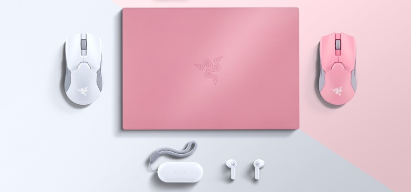 Razer le da un poco de color a sus periféricos con versiones en rosa y blanco de los más populares