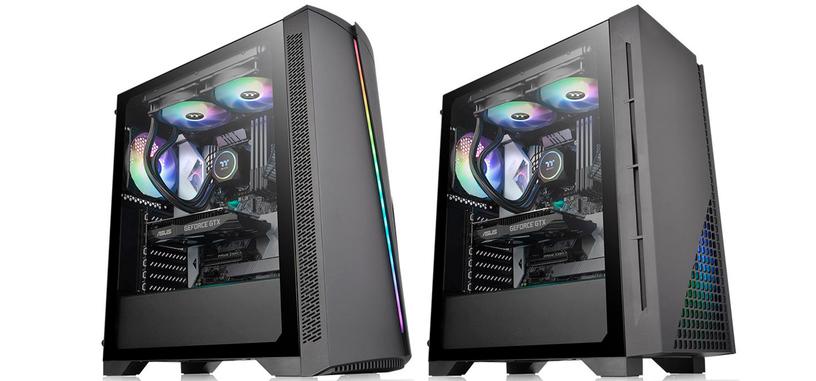 Thermaltake presenta las cajas H330 TG y H350 TG RGB