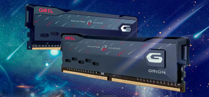 GeiL anuncia los módulos ORION Phantom Gaming en colaboración con ASRock