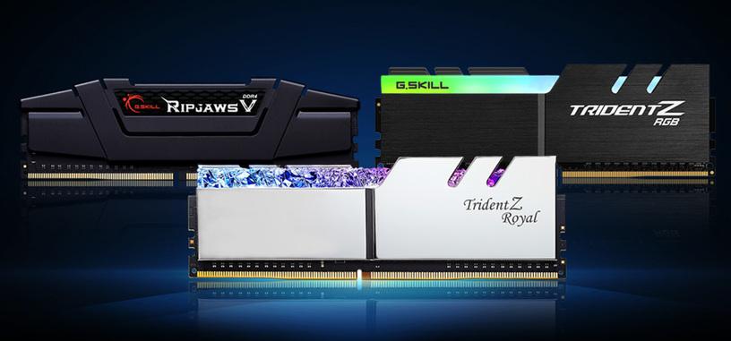 G.Skill anuncia nuevos módulos de memoria DDR4 de 4000 y 4400 MHz y CL 16