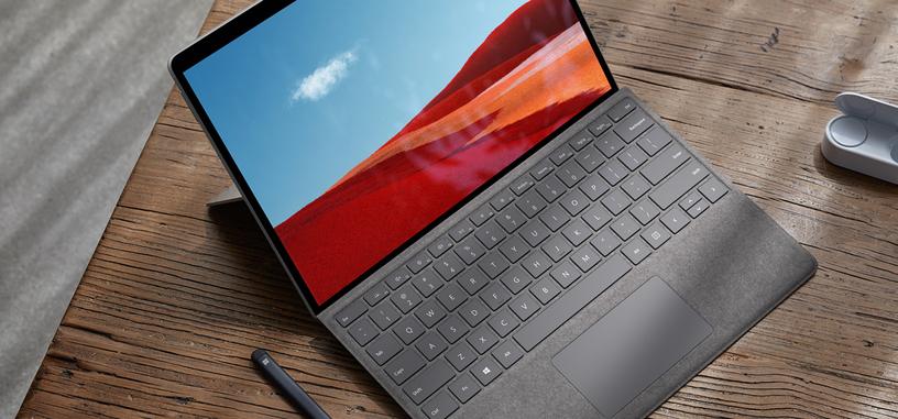 Microsoft renueva el Surface Pro X con un procesador SQ2