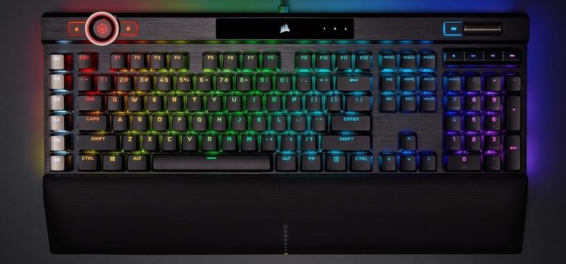 Corsair asegura que su nuevo teclado K100 RGB de 250 euros no tiene competencia