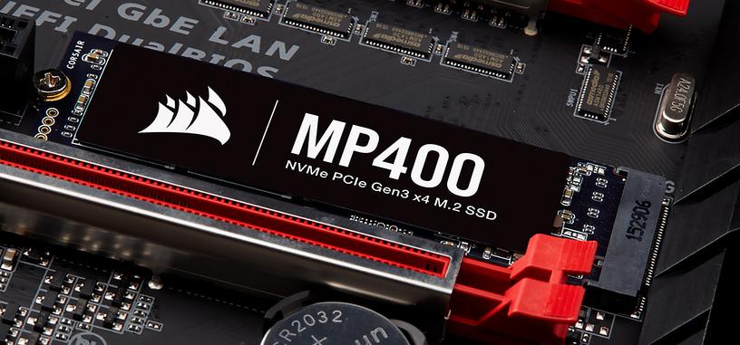 Corsair anuncia la serie MP400 de SSD de tipo PCIe 3.0 x4