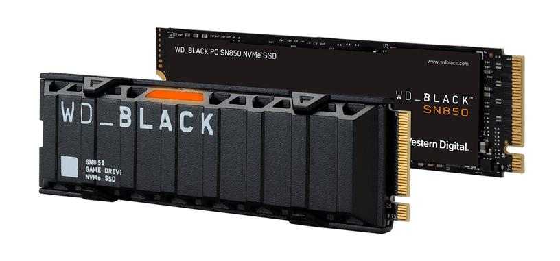 Western Digital anuncia la serie SN850 de SSD de tipo PCIe 4.0