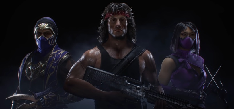 Rambo hará que no sientas las piernas con el nuevo paquete de personajes para 'Mortal Kombat 11'