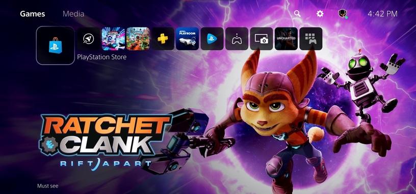 Sony da un repaso a la interfaz de usuario y funcionalidades de PlayStation 5 en un vídeo
