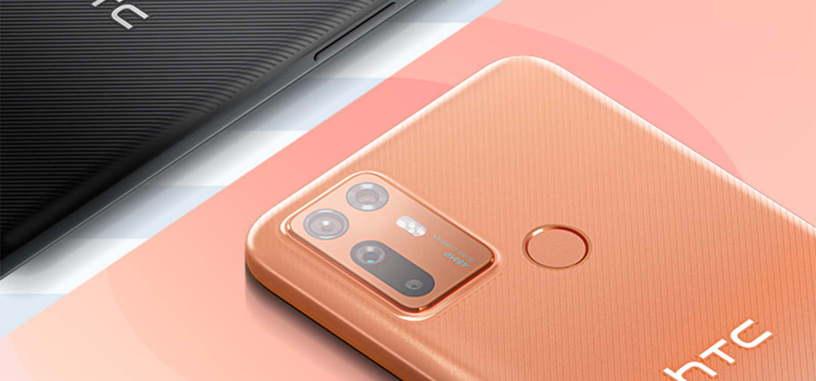 HTC presenta el Desire 20+ con Snapdragon 720G y batería de 5000 mAh