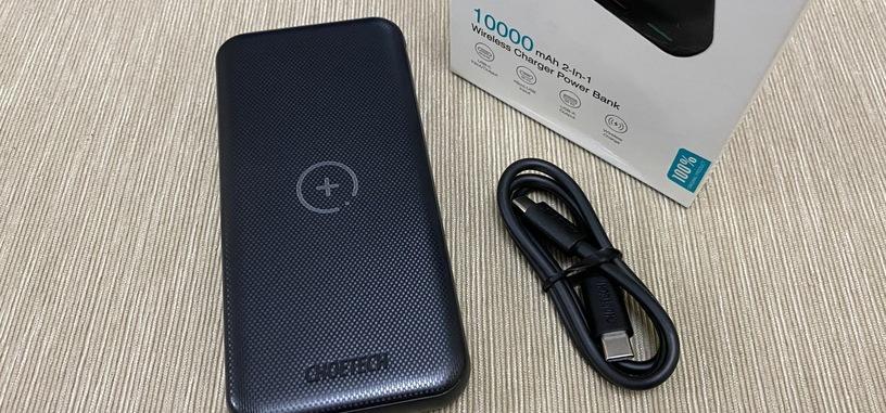 Reseña: B650 de Choetech, batería externa con carga inalámbrica