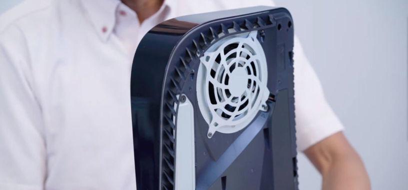 Sony irá actualizando la PS5 con perfiles de funcionamiento del ventilador para cada juego
