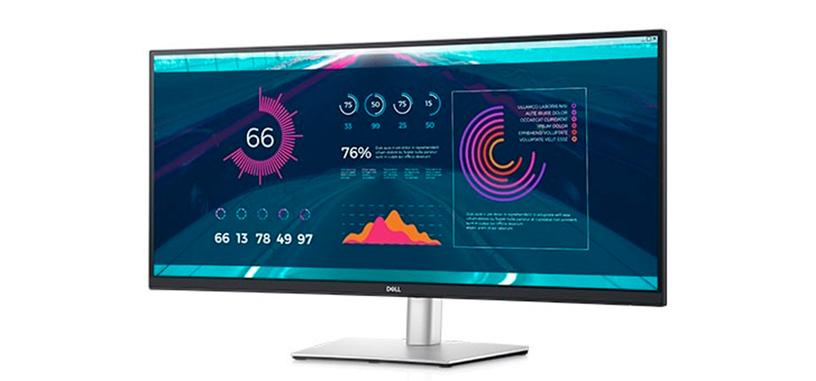 Dell presenta el monitor P3421W, panorámico curvo 3800 R de 34″